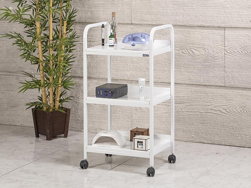 dizayn-cihaz-tasima-ve-setup-sehpasi-3-rafli-beyaz