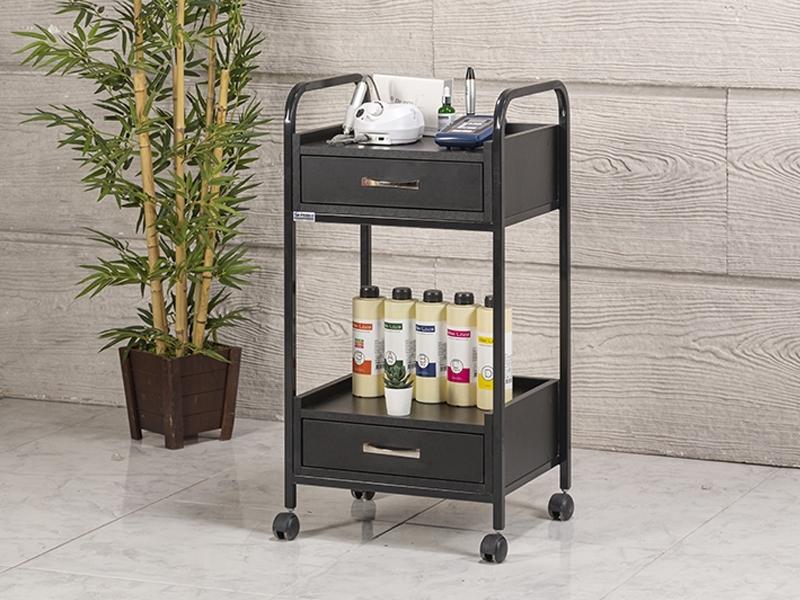 dizayn-cihaz-tasima-ve-setup-sehpasi-2-cekmeceli-siyah