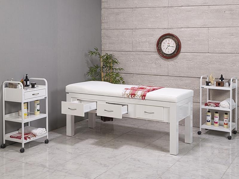 foca-ahsap-bakim-masasi-beyaz